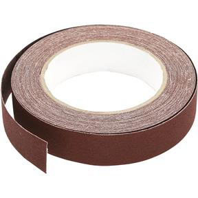 "1"" x 30' A/O Sanding Roll 120 Grit, Cloth"