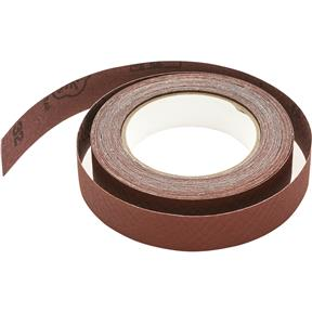 "1"" x 30' A/O Sanding Roll 220 Grit, Cloth"