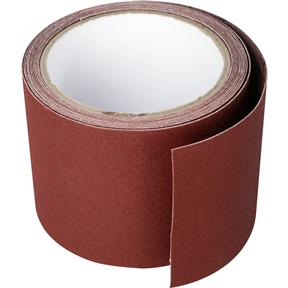 "3"" x 10' A/O Sanding Roll 120 Grit Cloth"