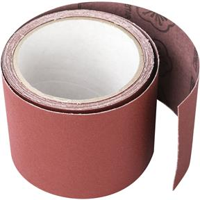 "3"" x 10' A/O Sanding Roll 220 Grit, Cloth"