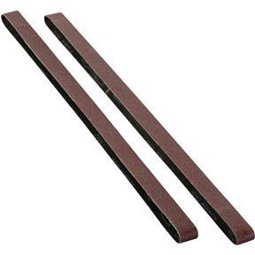 """1"""" x 42"""" A/O Sanding Belt 80 Grit, 2 pk."""