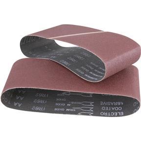 """3"""" x 21"""" A/O Sanding Belt 60 Grit, 2 pk."""