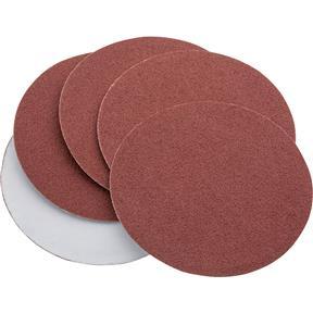 "5"" A/O Sanding Disc, 60 Grit PSA, 5 pk."
