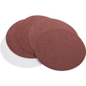 "5"" A/O Sanding Disc, 80 Grit PSA, 5 pk."