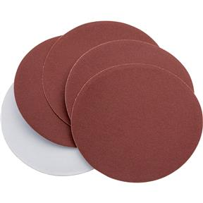 "5"" A/O Sanding Disc, 220 Grit PSA, 5 pk."