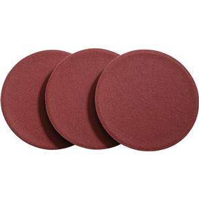 "6"" A/O Sanding Disc, 60 Grit PSA, 3 pk."