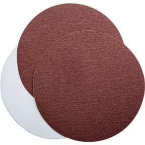 "6"" A/O Sanding Disc, 80 Grit PSA, 3 pk."