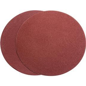 "9"" A/O Sanding Disc, 80 Grit PSA, 2 pk."