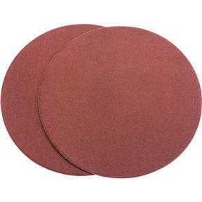 "9"" A/O Sanding Disc, 120 Grit PSA, 2 pk."