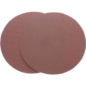 "9"" A/O Sanding Disc, 220 Grit PSA, 2 pk."