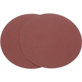 "12"" A/O Sanding Disc, 80 Grit PSA, 2 pk."
