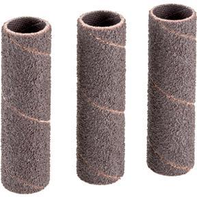 """1/2"""" Dia. x 2"""" A/O Hard Sanding Sleeve, 80 Grit, 3 pk."""