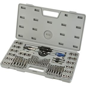 60-Pc. SAE & Metric Tap & Die Set