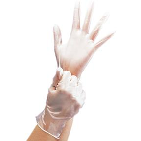 Disposable Vinyl Gloves - Medium, 100 pk.
