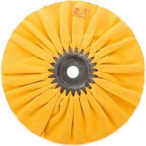 "8"" x 12 Ply x 5/8"" Airway Hard Buff Wheel, 3500 RPM"