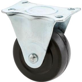"2"" Rubber Fixed Caster"