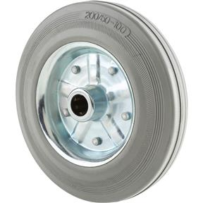 "8"" Gray Rubber Tire"