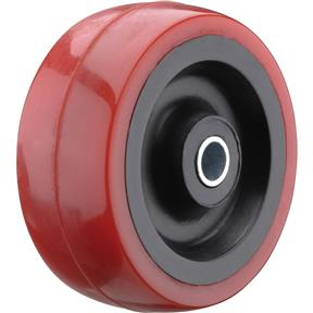 "2"" Red Polyurethane Wheels"