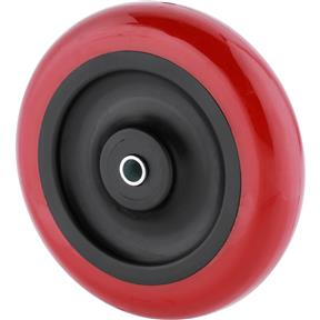 "5"" Red Polyurethane Wheels"