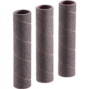 """1"""" Dia. x 4-1/4"""" A/O Hard Sanding Sleeve, 60 Grit, 3 pk."""