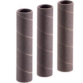 """1-1/2"""" Dia. x 4-1/4'' A/O Hard Sanding Sleeve, 100 Grit, 3 pk."""