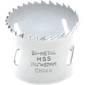 "2-1/4"" Bi-Metal Hole Saw - 5/8"" Arbor"