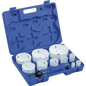 Bi-Metal Hole Saw Sets - 10 pc.