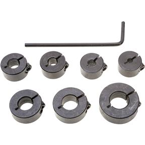 7 pc. Split Ring Depth Stop Set