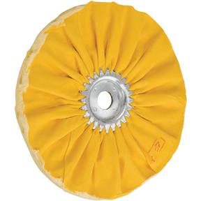 "8"" x 12 Ply x 3/4"" Airway Hard Buff Wheel, 3500 RPM"