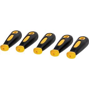 Rubber File Grips - 5 pc.
