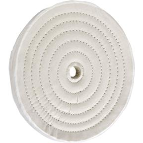"8"" x 40 Ply x 5/8"" Soft Muslin Buffing Wheel, 4,000 RPM"