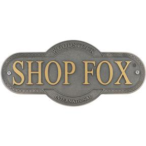 Shop Fox Nameplate - Large