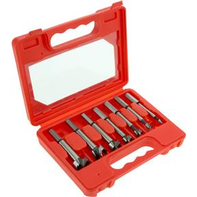 "Forstner Bit 7 pc. Set, 1/4"" - 1"""
