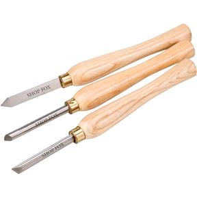 Lathe Chisel Set, 3 pc.