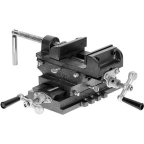 "4"" Cross Sliding Vise with Slide Bar"