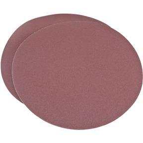 "15"" A/O Sanding Disc, 80 Grit PSA, 2 pk."