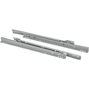 "14"" European Style Self-Closing Drawer Slide, Grey"