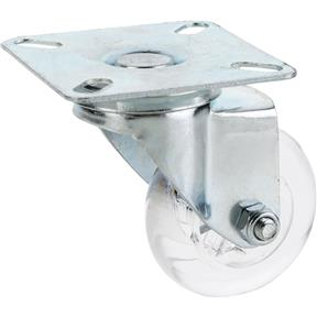 "2"" Non-Marring Swivel Caster, Plate Mount"