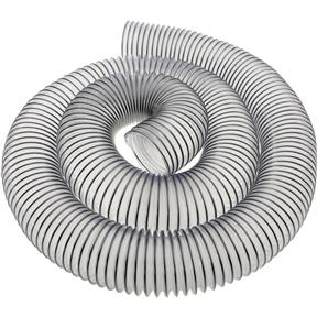 """2-1/2"""" x 10' Clear Wire Reinforced Hose"""