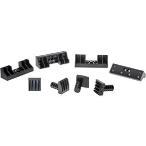 Low Profile Bench Dogs with Wide Jaw 4/PC Set