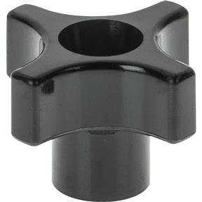 "Four Arm Thru 1/4"" - 20 Knob"
