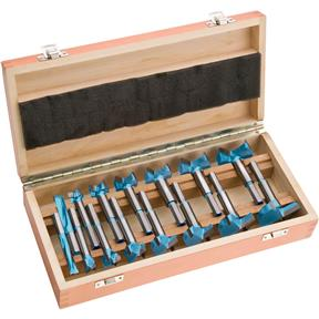 "15 pc. Carbide Forstner Bit Set, 5/16"" - 2-1/16"""