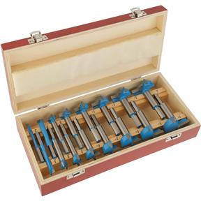 "16 pc. Carbide Forstner Bit Set, 1/4"" - 2-1/8"""
