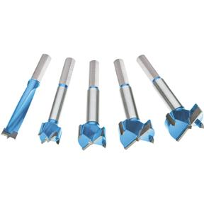 "5 pc. Carbide Forstner Bit Set, 1/2"" - 1-3/8"""