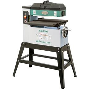 "18"" 1-1/2 HP Open-End Drum Sander w/ VS Feed"