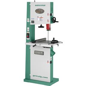 "17"" 2 HP Bandsaw w/ Cast-Iron Trunnion"