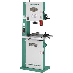"17"" 2 HP Bandsaw w/ Cast Iron Trunnion"