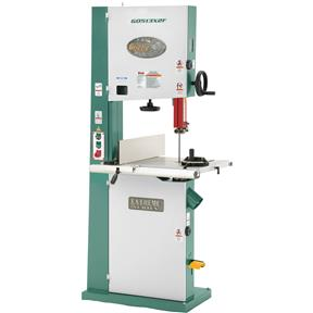 "17"" 2 HP Extreme-Series Bandsaw with Cast-Iron Trunnion & Foot Brake"