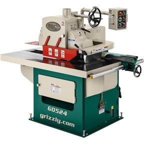 15 HP 3-Phase Straight Line Rip Saw