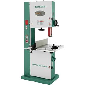 "21"" 5 HP Industrial Bandsaw with Brake"